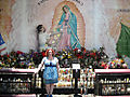 061808 Olvera St Alter in back of church me in front